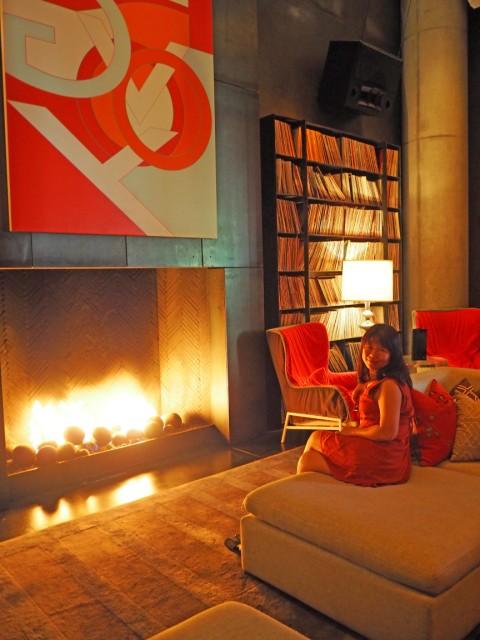 W Hotel Austin Living Room Vinyl
