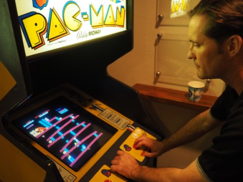 donkey kong game at getaway austin