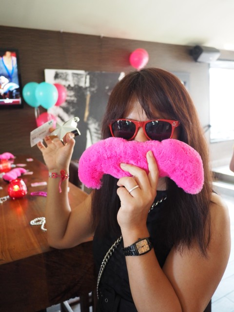 lyft austin pink mustache launch party ride sharing