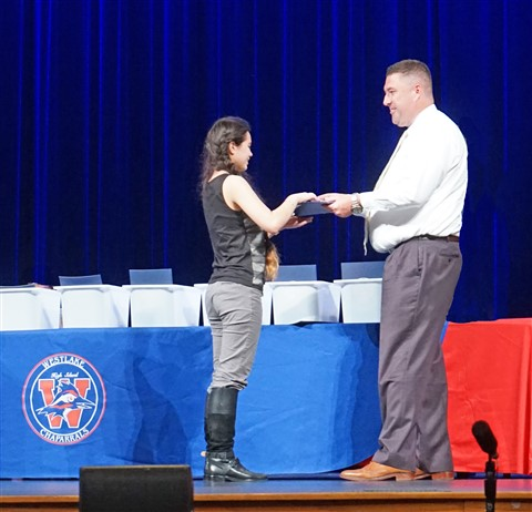 westlake high school academic award