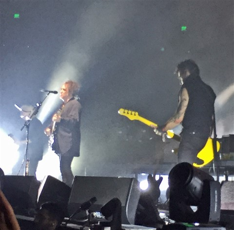 the cure at the erwin center austin may 13th 2016