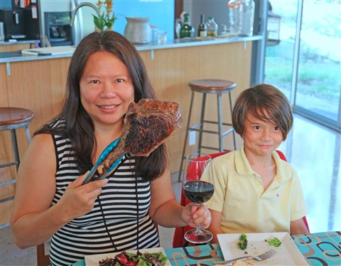 mother's day tomahawk steak