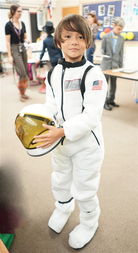 Neil Armstrong Wax Museum Eanes