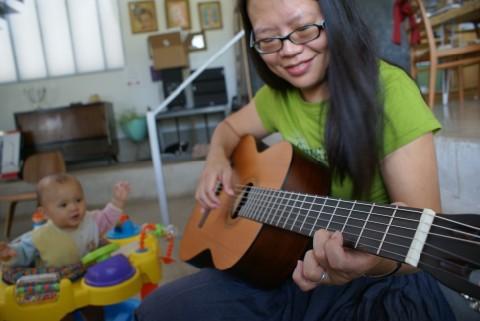 kat's classical guitar