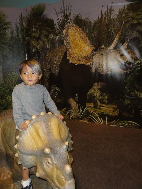 austin children's museum dinosaur