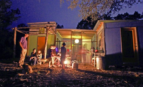 wimberley offgrid cabins