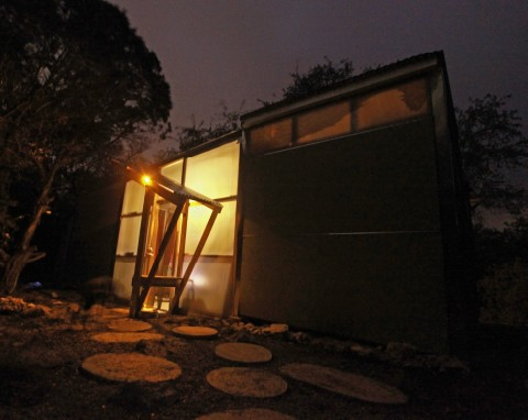 wimberley solar powered cabin