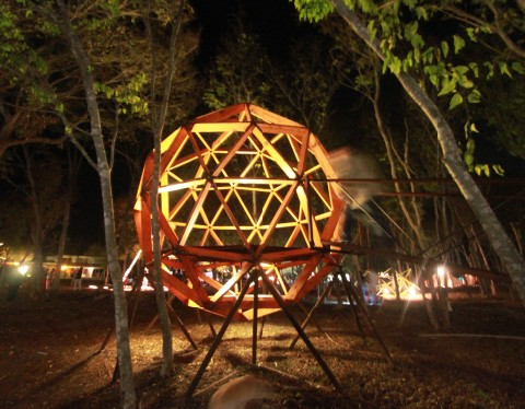 loop project zidell house geodesic orb