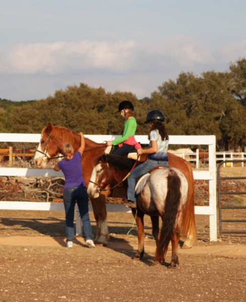 english style horse riding lesson austin