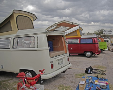 austin air cooled veedub vw gathering vanagon