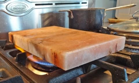 himalayan salt plate cooktop