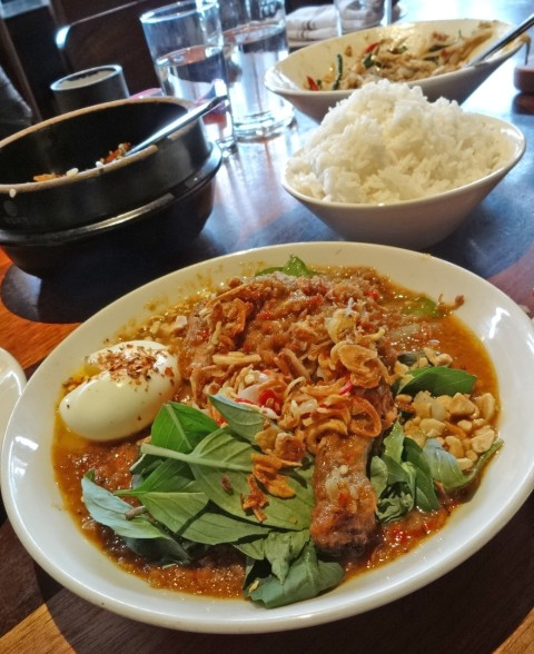 peanut curry Sway Thai austin texas