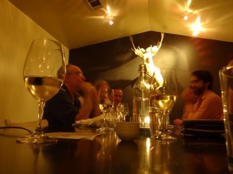 fabi+rosi private event room austin tx wine dinner