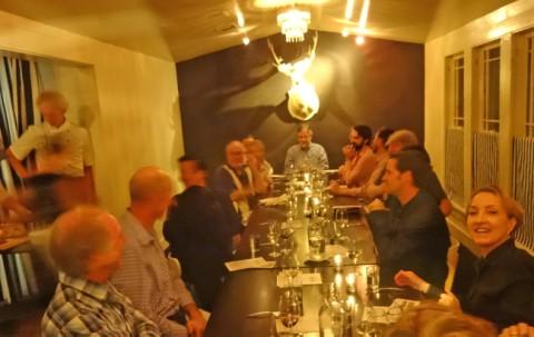 fabi+rosi wine dinner german chef's table castle hornberg