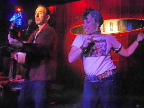 Jonathan Richman and Carla Austin continental club 2013
