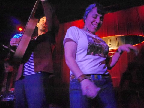 carla dances at the continental club jonathan richman 2013