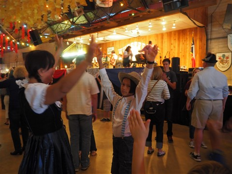 german dancing and music at wurst fest new braunfels texas