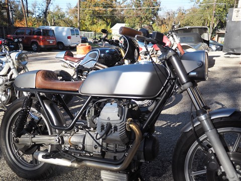 ducati outside revival cycles austin cafe racer