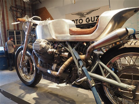 revival cycles austin texas moto guzzi cafe racer