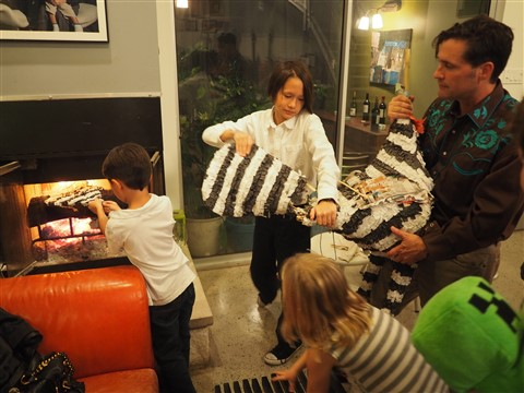 deconstructiong tesla tom the thanksgiving pinata