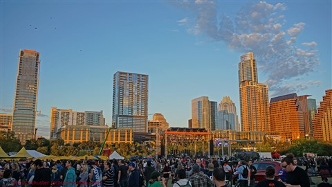 austin skyline from fun fun fun fest 2015