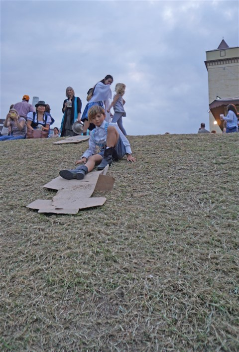 wurstfest hill slide