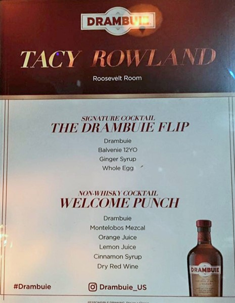 tacy rowland #drambuie flip