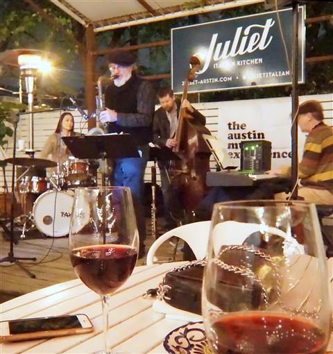 Rich Harney Quartet matsumi jones juliet italian kitchen barton springs kutx jazz