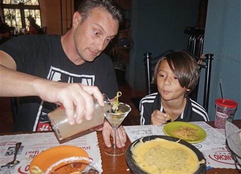 matt's el rancho mexican martini and bob armstrong dip
