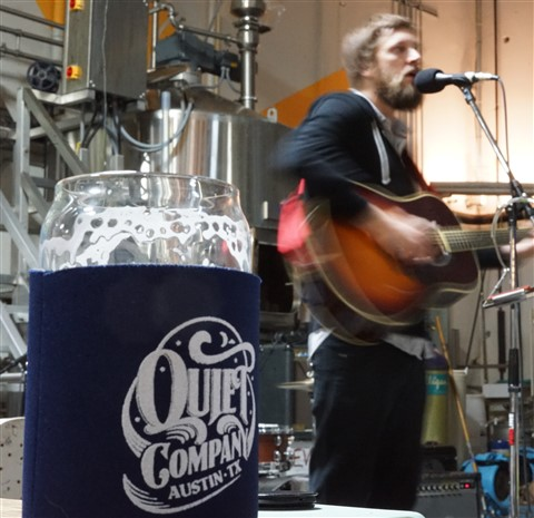 Taylor Muse Quiet Company Souther Heights Brewing Austin
