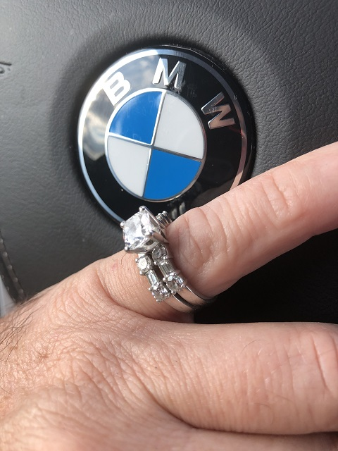 bmw engagement ring