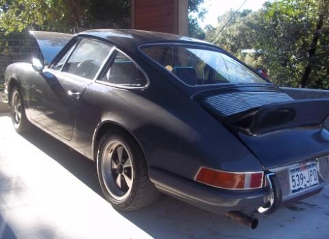 vintage porsche 911t for sale
