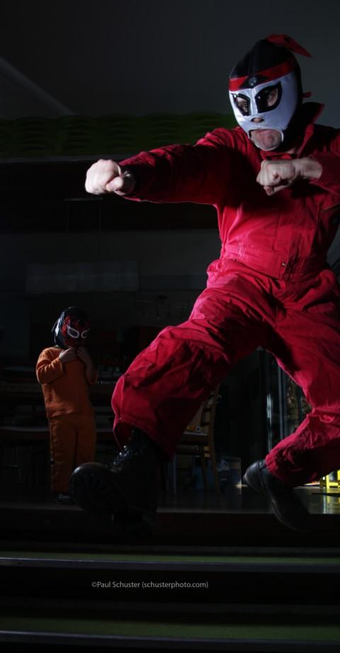kick ass luchador