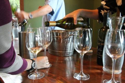 wine tasting at eleven plates westlake austin