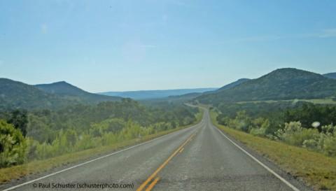 uvalde county texas road