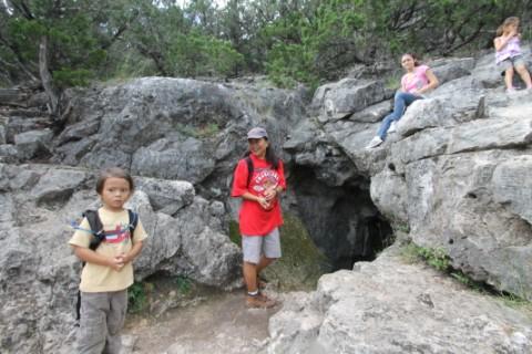 crystal cave garner state park