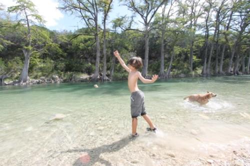 rock toss rio frio garner state park tx