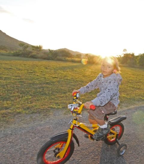 bike-a-cycle at garner state park