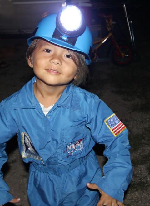 nasa space suit at garner state park
