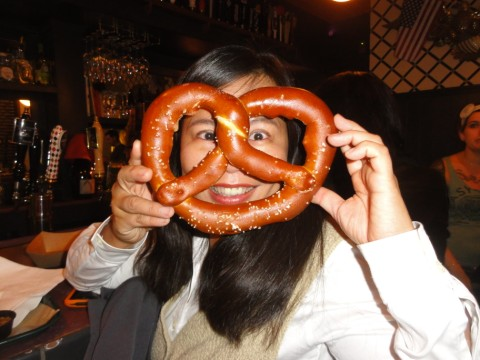 easy tiger austin fresh made pretzel