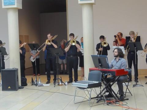 blanton museum of art soundspace 80 trombones