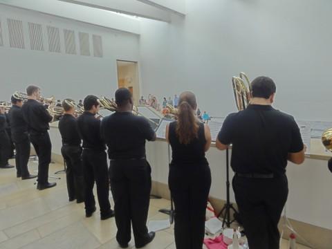 blanton museum of art UT soundspace 80 trombone