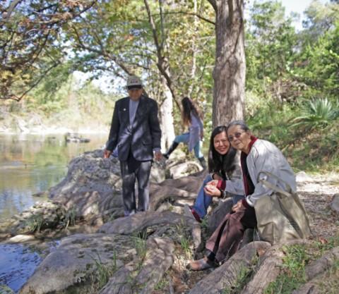 wangs of the river (blanco)