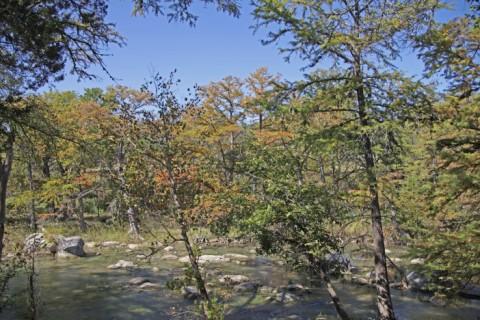blanco river wimberley fall 2012