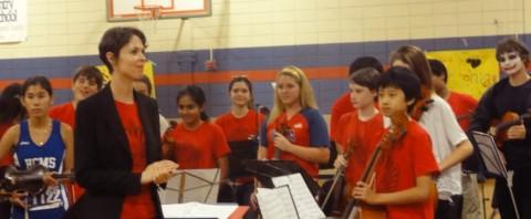 rachel horvitz hcms orchestra