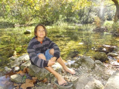 lost creek austin greenbelt fall 2012