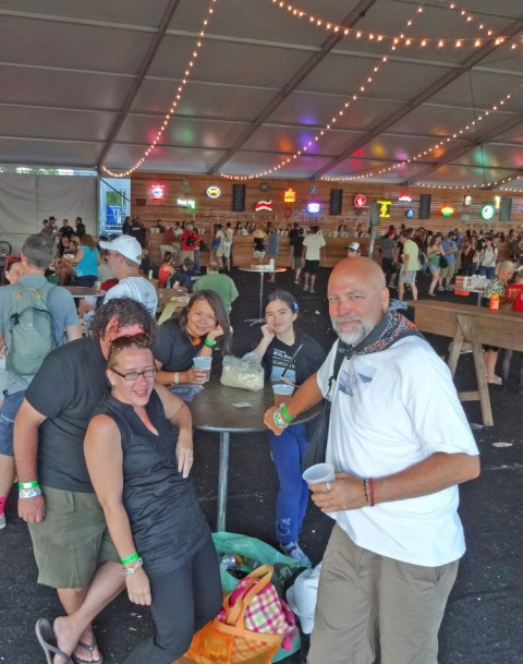craft beer tent acl 2013