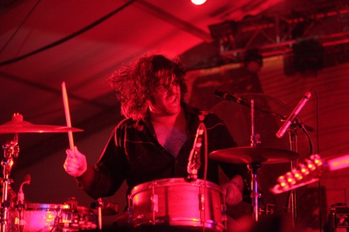 jon spencer blues explosion drummer acl austin 2013