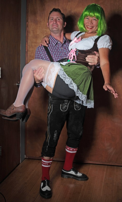 lederhosen german beer girl costume austin