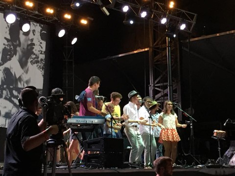 belle and sebastian austin city limits festival 2014 acl dancers